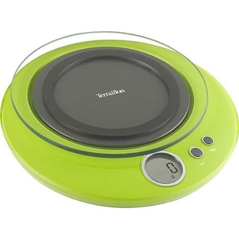 Petit Terraillon - Báscula de cocina (máx. 3 kg), color verde: Amazon.es: Bebé
