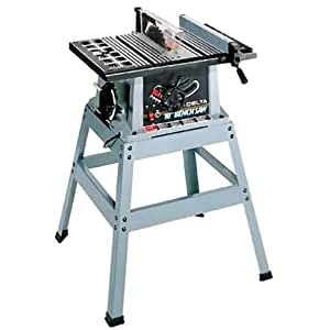 Delta 36 545 10 Inch Bench Saw With Stand Power Table Saws