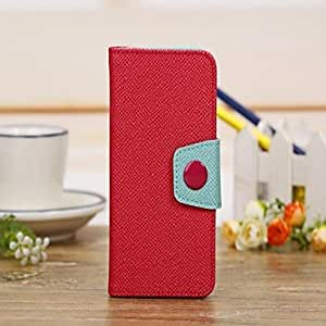 DD Luxury Pattern Wallet Leather Case for iPhone 5/5S (Assorted Colors) , White