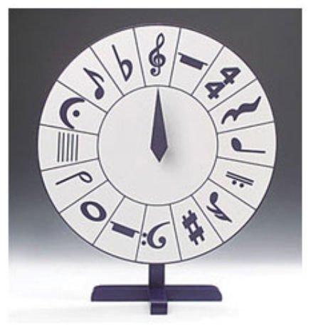 Amazon com: Rhythm Band Instruments RB454 Music Symbols Spin Game