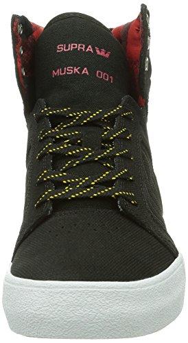 Supra SKYTOP, Sneakers unisex Nero (Schwarz (Black/Yellow - White Bly))