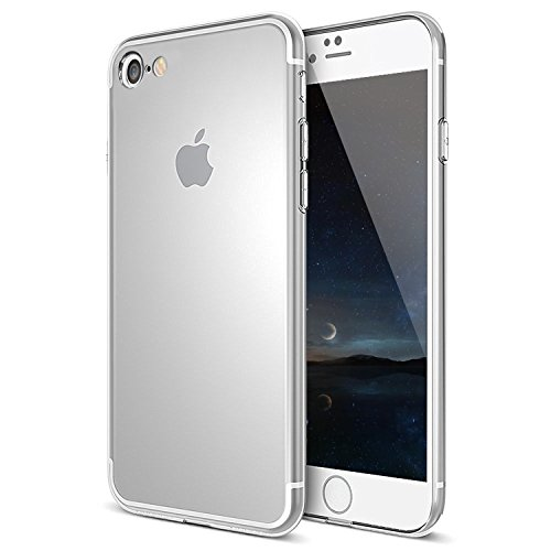 iPhone 7 hülle, Mture Crystal Clear Schutzhülle iPhone 7 Ultradünn Weich Flexibel Silikon Bumper Anti-Scratch Durchsichtiges hülle für iPhone 7 Case Cover