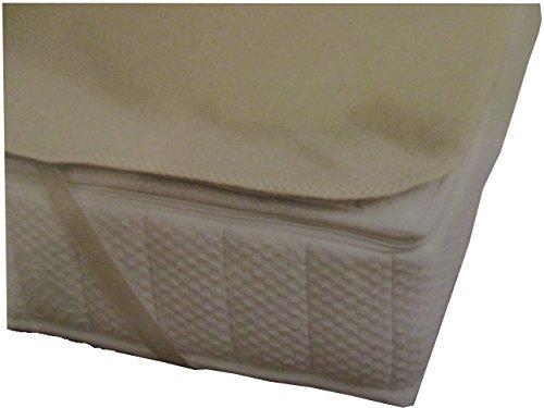Dormiente Moltonauflage Natural Protect, kbA Baumwolle, mit Spanngummis 160x200 cm
