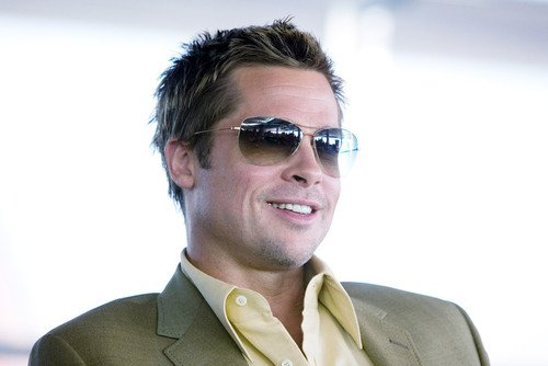 e2c182863d52 Brad Pitt 24x36 Poster cool in shades from Ocean's 11 at Amazon's ...