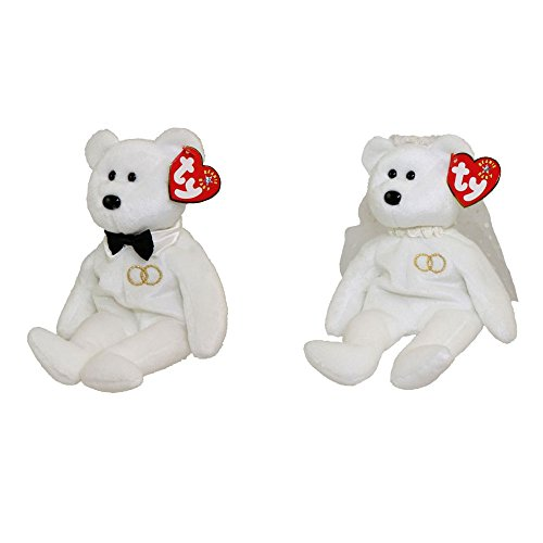 c9fa6c4e04b Ty Beanie Baby Mr and Mrs Bear Bride and Groom Wedding Teddy Set of 2 - Buy  Online in Oman.