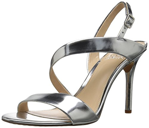 Vince Camuto Women's Costina Heeled Sandal Silver 5cSE3H