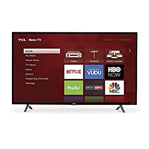 TCL 49S305 49-Inch 1080p Roku Smart LED TV (2017 Model)
