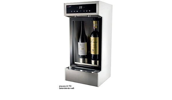 enomatic® Wine Serving de 2 unidades Systems - Vinos se pueden Abrir 21 Días sin pérdida de calidad ausgeschenkt.: Amazon.es: Grandes electrodomésticos