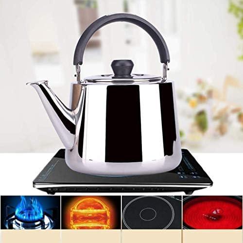 4L Fashion Home Producten Klinkende ketel Gas 304 roestvrijstalen inductiekookplaat Kettle kettlebell