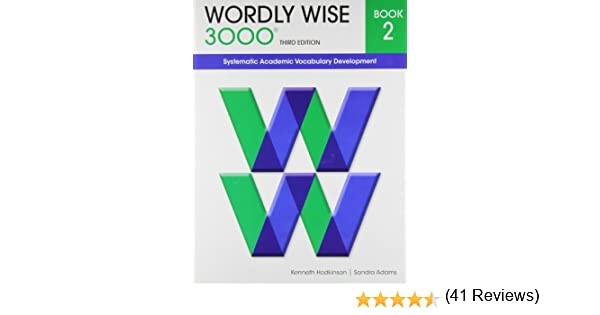 Wordly Wise 3000 Book 2: Kenneth Hodkinson, Sandra Adams ...