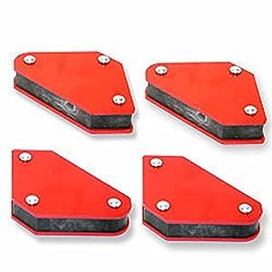 4 Pc Set Welding Magnets Welder Arc Tig Mig Welding