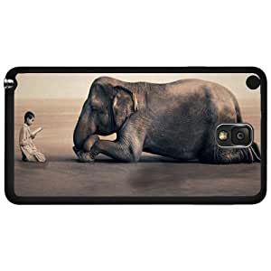The Learning Elephant Hard Snap on Phone Case (Note 3 III)