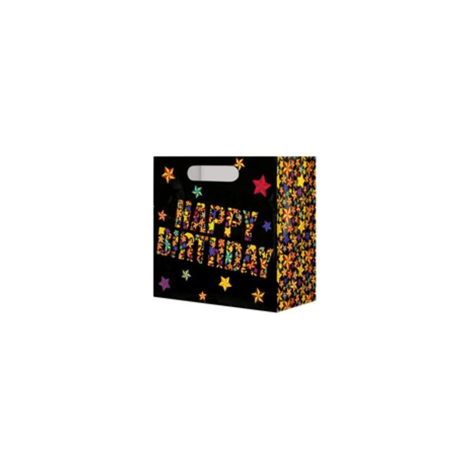 USA Wholesaler  26214261 Happy Birthday Beer Bag   Holds A 6 Pack