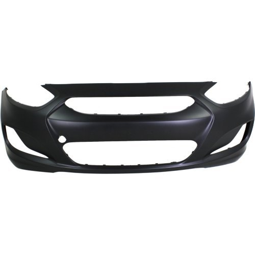 Front Bumper Cover for HYUNDAI ACCENT 2012-2014 Primed Hatchback/(Sedan 2012-2013) To - Accent Hyundai Hatchback