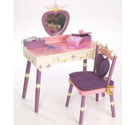 Discovery Princess Vanity (Princess Vanity Table and Chair Set)