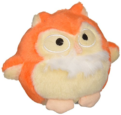 Charming 61209 Howling Hoots Orange Squeak Toys