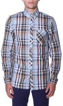 Fred Perry Madras Check Shirt Sky-M: Amazon.es: Ropa y accesorios
