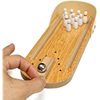 24x7 eMall Indoor Wooden Mini Bowling Game