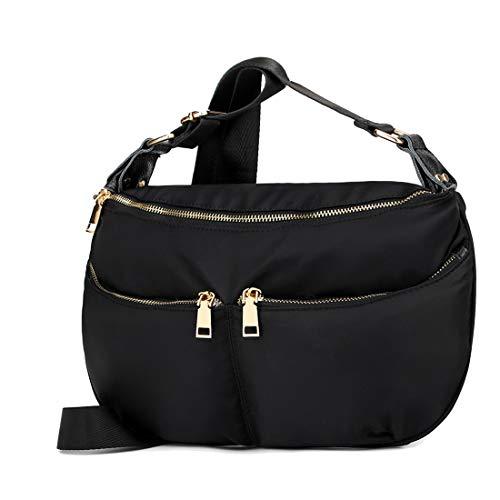 Nylon Hobo Handbags - 5