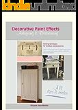 "Decorative Paint Effects ""Antiquing & Distressing"""