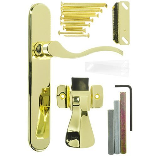 Wright Products VBG115PB BRIGHTON SURFACE MOUNT LATCH, BRASS
