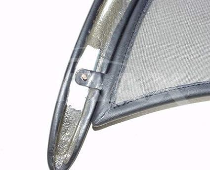 Airax Windschott f/ür Boxster Typ 986 L//R Cabrio Windabweiser Windscherm Windstop Wind deflector d/éflecteur de vent
