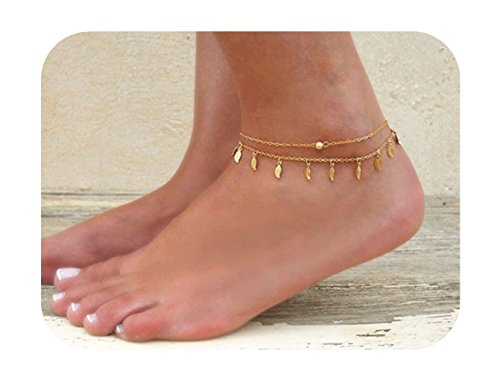 Defiro Minimalist Anklet Gold