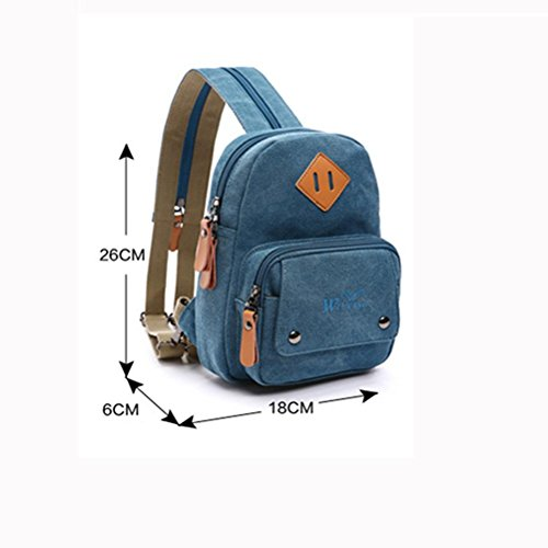 Backpack Ms Multifunction Outdoor Canvas Orange Chest travel pack Durable backpack wwO8rq