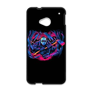 HTC One M7 Phone Case Black FRIDAY THE 13TH FORCEFUL ENTRY ZKH9376728