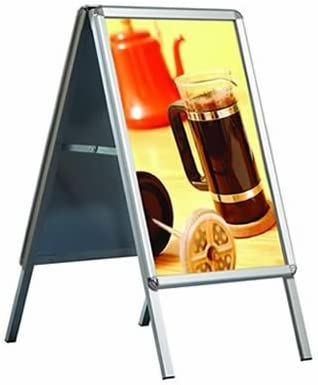 A1 A-Board Pavement Display Board Sign - Snap Frame: Amazon.co.uk: Welcome