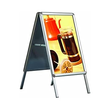 A1 A-Board Pavement Display Board Sign - Snap Frame - FREE SHIPPING ...