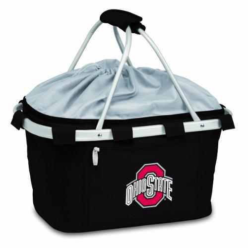 NCAA Ohio State Buckeyes Metro Insulated Basket, Black