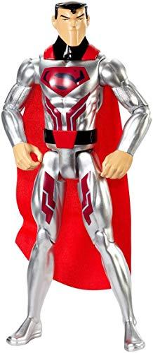 DC Comics Justice League Action Steel Suit Superman Figure]()