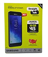 Straight Talk Samsung Galaxy J7 Crown Prepaid Smartphone