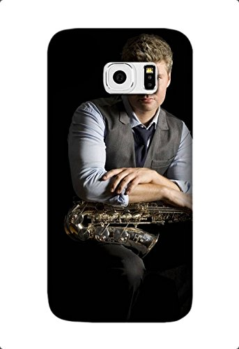 Ultra Thin Color TPU michael lington saxophone light face vest Soft Cover For Samsung Galaxy S7 Design By [Andrea Novak]