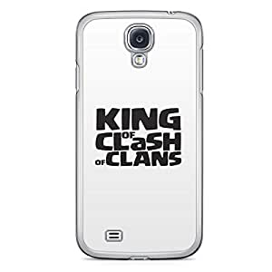 Clash of Clans Samsung Galaxy S4 Transparent Edge Case - King