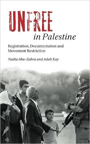Book Unfree in Palestine: Registration, Documentation and Movement Restriction