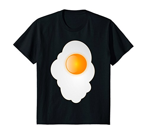 Kids Fried Egg last minute funny Halloween costume tshirt 12 -
