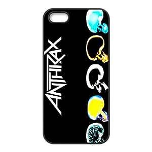 LJF phone case Rockband Modern Fashion Guitar hero and rock legend Phone Case for iPhone 5S(TPU)