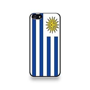 Coqip5_192 LD carcasa protectora para iPhone 5/5S - de la bandera de Uruguay