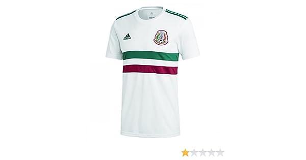 eb6b59edd Amazon.com : adidas 2018-2019 Mexico Away Football Soccer T-Shirt Jersey  (Kids) : Clothing