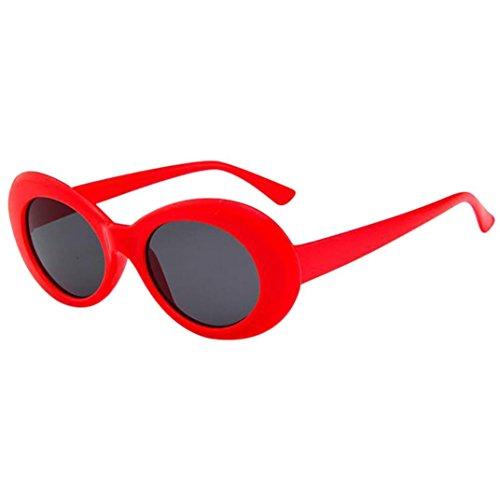 Hombre Protección Para Mujer Sunday Sol Vintage Sol Ovaladas J I Gafas de Gafas Redondas de Gafas Hxgx7wqU