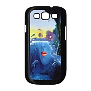 [MEIYING DIY CASE] For Samsung Galaxy S3 -Dolphins and Sea Pattern-IKAI0446512