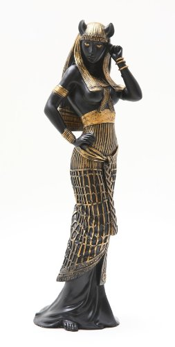 Bastet Statue - 10.75 Inch Flirty Bastet Egyptian Mythological Goddess Statue Figurine