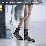 Vihir Men's Winter Knitted Non-Skid Home Warm