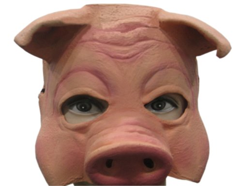 Pig Mask of High Quality, Funny Terrific Halloween& Party (Funny Customes)