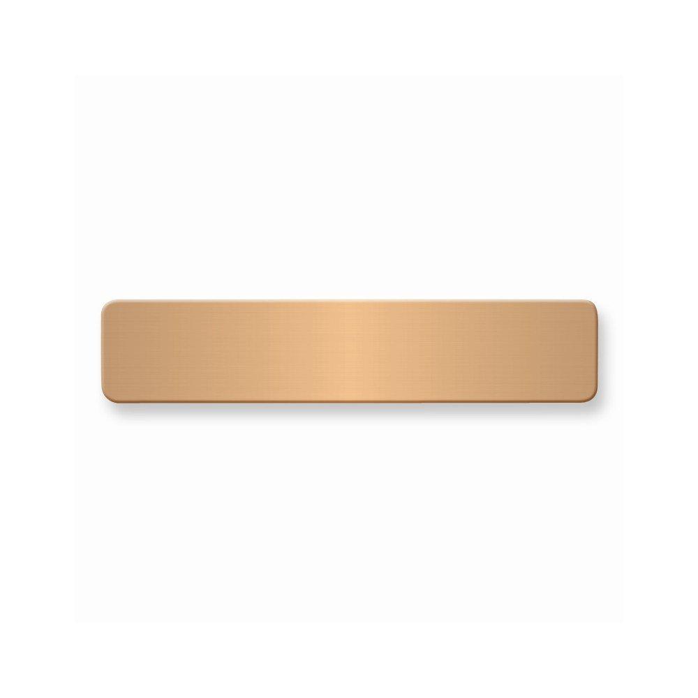 1/2 x 2 3/8 Copper Alum Plates-Sets of 6