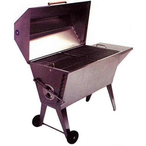 Cajun Grill Super 36-inch Stainless Steel Charcoal Grill - Pgi-100ss (Stainless Steel Grill Charcoal Cajun)