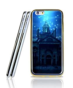 Film The Haunted Mansion Funda Case For IPhone 6s Plus, Anti Scratch 2 in 1 [Golden - Bordered] Magnetic + Exclusive Pattern Slim Fit Shell Protective Skin Funda Case