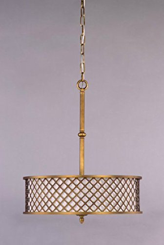 Hanging Lamp - Roman Shade Collection - Roman Bronze Hanging
